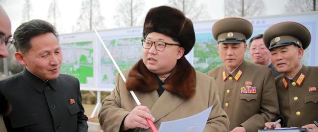 - Mislykket rakettoppskyting i Nord-Korea