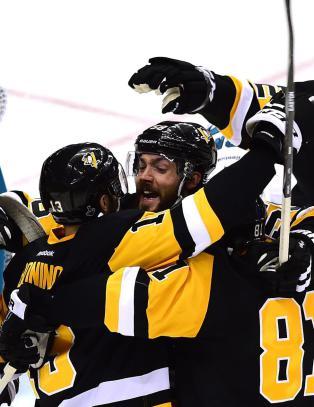Penguins tok f�rste stikk i Stanley Cup-finalen