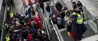 162 000 asyls�kere kom til Sverige i fjor. Under 500 fikk jobb