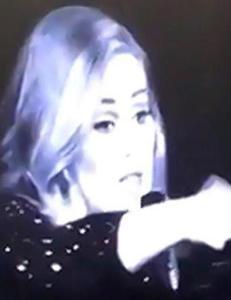 Adele ga skjennepreken til kvinnelig fan: - Slutt � filme meg