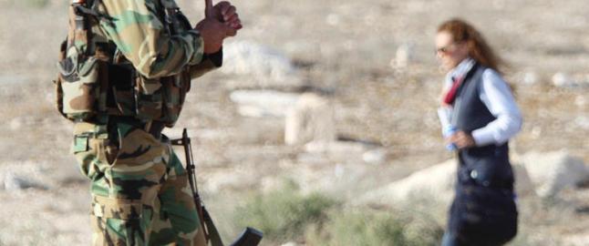 - Syriske regjeringsstyrker st�r for plyndring og ulovlig graving i Palmyra