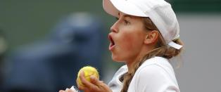 Ukjente Julia fikk fram tårene hos Serena Williams: - For ei jente!