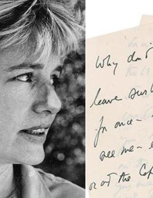 John F. Kennedy i kj�rlighetsbrev til elskerinne: - Hvorfor sier du ikke bare ja