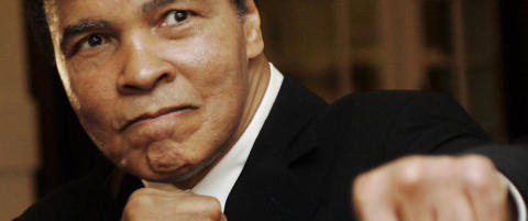 Bokselegenden Muhammad Ali er død