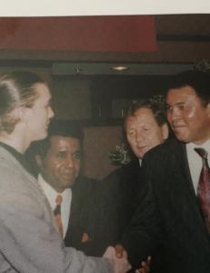 Klemetsen om m�tet med Ali: - Han var jo kjent for de raske replikkene