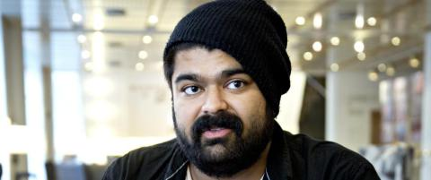 NRK-profilen Abubakar «Abu» Hussain ble tobarnsfar