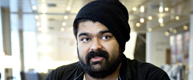 NRK-profilen Abubakar �Abu� Hussain ble tobarnsfar