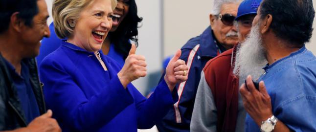 - Clinton blir Demokratenes presidentkandidat