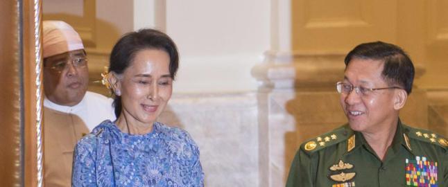 Ber Aung San Suu Kyi   stoppe statseid, norsk selskap