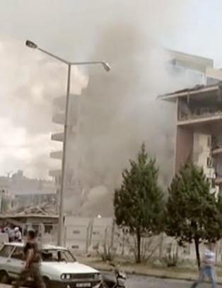 Ny bilbombe i Tyrkia - tre politimenn drept