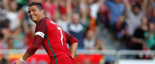 Advarsel til EM-favorittene: Ronaldo og Portugal vant 7-0