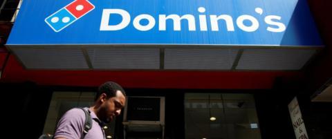 Doblet p� Domino's Pizza