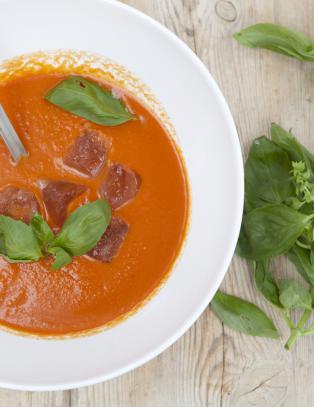 Kald suppe er perfekt p� en varm sommerdag