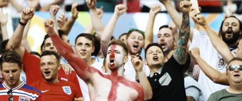 England vinner EM 50 �r etter VM-gullet - hvis de ikke sendes hjem i skam med voldens supportere fra Russland