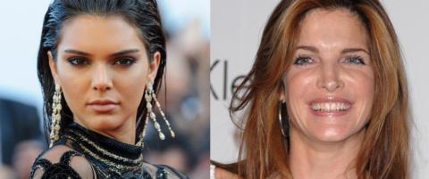 Kendall Jenner i strupen p� eksmodell: - Mobber