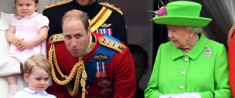 Prins William fikk oppstramming av bestemor