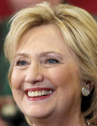 Hillary Clinton ble bestemor til nummer to