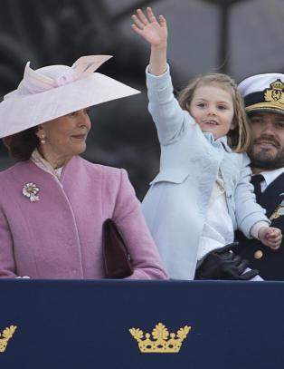 Den svenske dronningen i stort intervju om sine 40 år på tronen: - Estelle reddet dagen