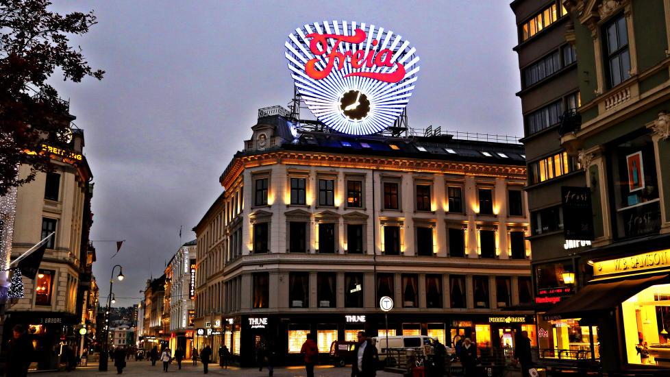 Freia: Selger fortsatt mye, men uten å skatte stort til Norge. Foto: Jacques Hvistendahl
