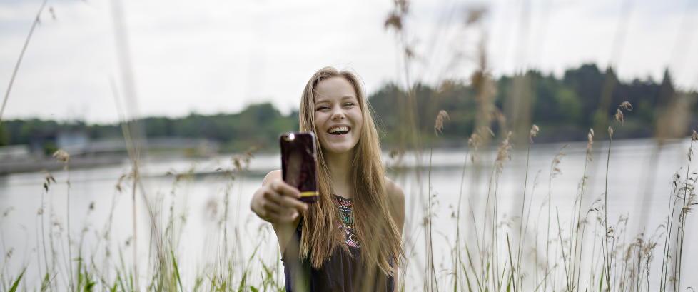 Som 17-åring konkurrerte norske Andrea med Oprah Winfrey om å ha flest Instagram-følgere