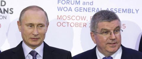 IOC tester positivt i Russland