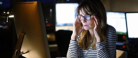 Sl�r alarm om kvinnehelse: Mye overtid gir �kt kreftfare