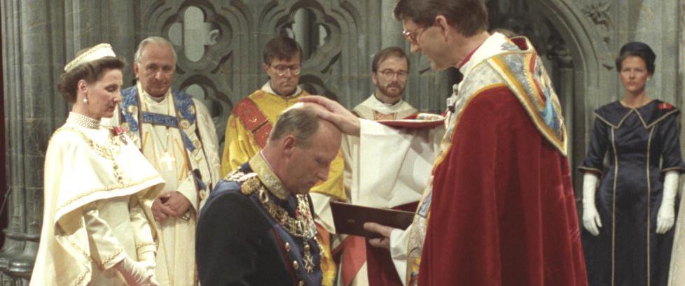 25 år siden kongeparet ble signet