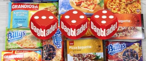Ern�ringstest: Den sunneste porsjonspizzaen