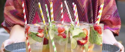 Tre deilige drinker til sommerfesten