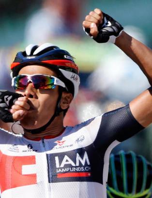 Kolombiansk bruddseier i Tour de France