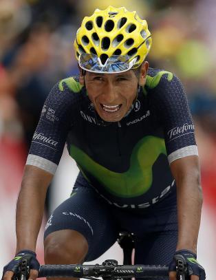 Quintana forn�yd tross skuffende Tour de France
