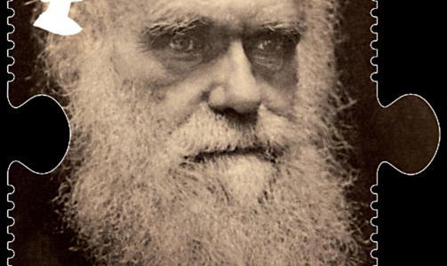 DARWIN-�R: Det er blitt gitt ut Darwin-frimerker i England i anledning Darwin-�ret. Foto: REUTERS/Royal Mail/Scanpix