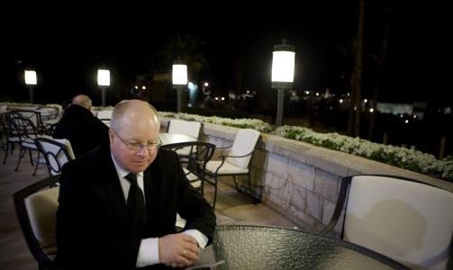 REISTE TIL GAZA: Frps utenrikspolitiske talsperson, Morten H�glund. Foto: TORBJ�RN GR�NNING.