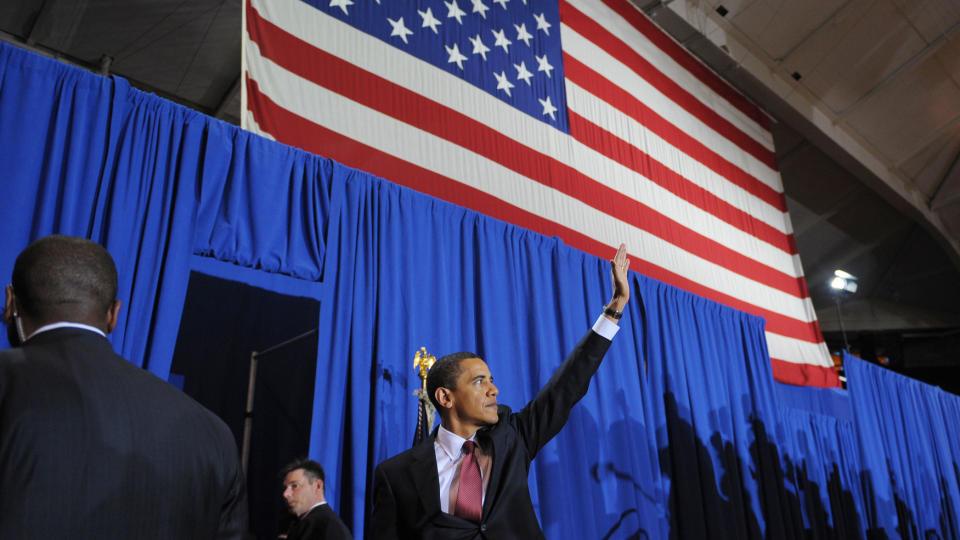 VIL UT AV IRAK: President Barack Obama erkl�rte i dag at alle USAs kampstyrker skal ut av Irak innen 31. august.  Foto: Scanpix