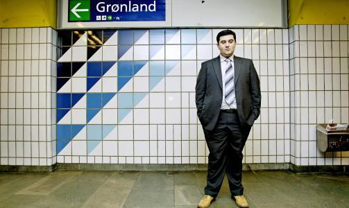 SISTE SKANSE: - Frp er innvandrernes siste skanse, sier Mazyar Keshvari. Han er leder for Alna Frp, bytstyremedlem og stortingskandidat for Frp. Foto: DAGBLADET