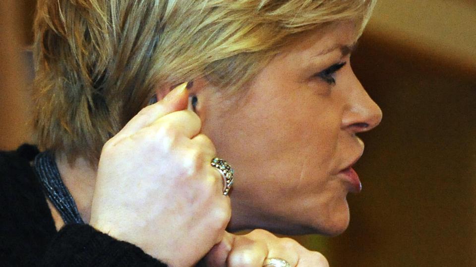 - SOM MEG: - Hun var en kontroversiell politiker som turte � st� for noe. Det samme pleier man � si om meg, sier Frps partiformann, Siv Jensen, til Dagbladet.no. Foto: SCANPIX
