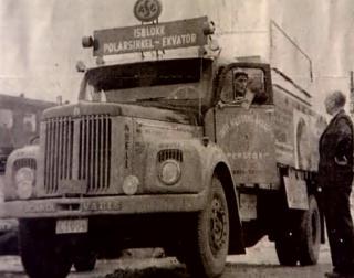 SKANDINAVISK BIL: Franskmennene �nsket seg en fransk lastebil, men det ble det ingenting av.