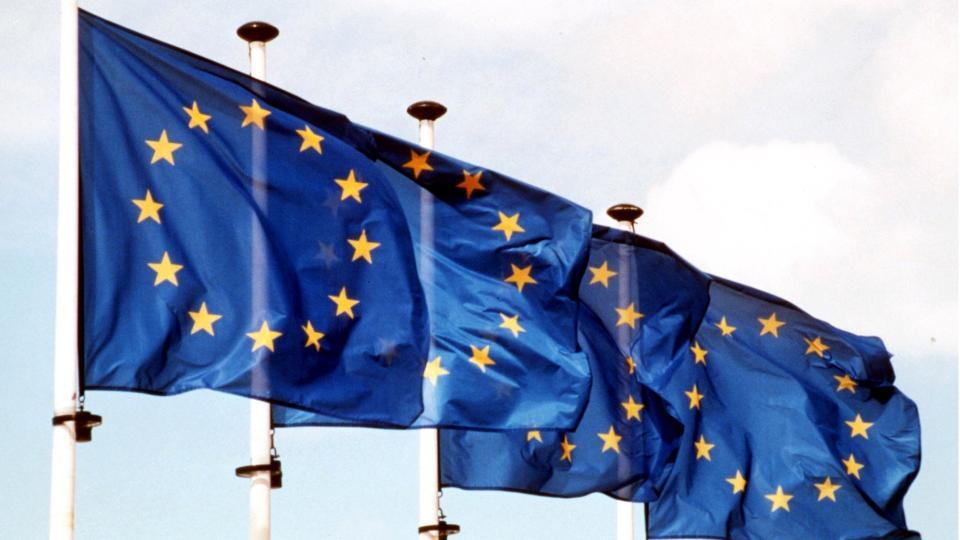 EU-NEI: Nationens EU-barometer for april konstaterer at 53,3 prosent av nordmenn sier nei til EU-medlemskap. Foto: SCANPIX