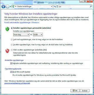 Slik oppdaterer felt i Microsoft Word.