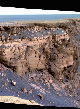 ET NYTT HJEM? Mange mener bemannede turer til Mars m� v�re neste skritt. Foto: SCANPIX/NASA