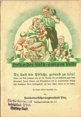 SUNNE, EKTE ARIERE: Fascinasjonen for Germania ble blandet med rase, og i den nasjonalsosialistiske propagandaen fremsto den blonde, bl��yde, h�ye bondegutten som perfekt. Kvinnen skulle f� mange barn og ha samme utseende. Foto: WIKIMEDIA