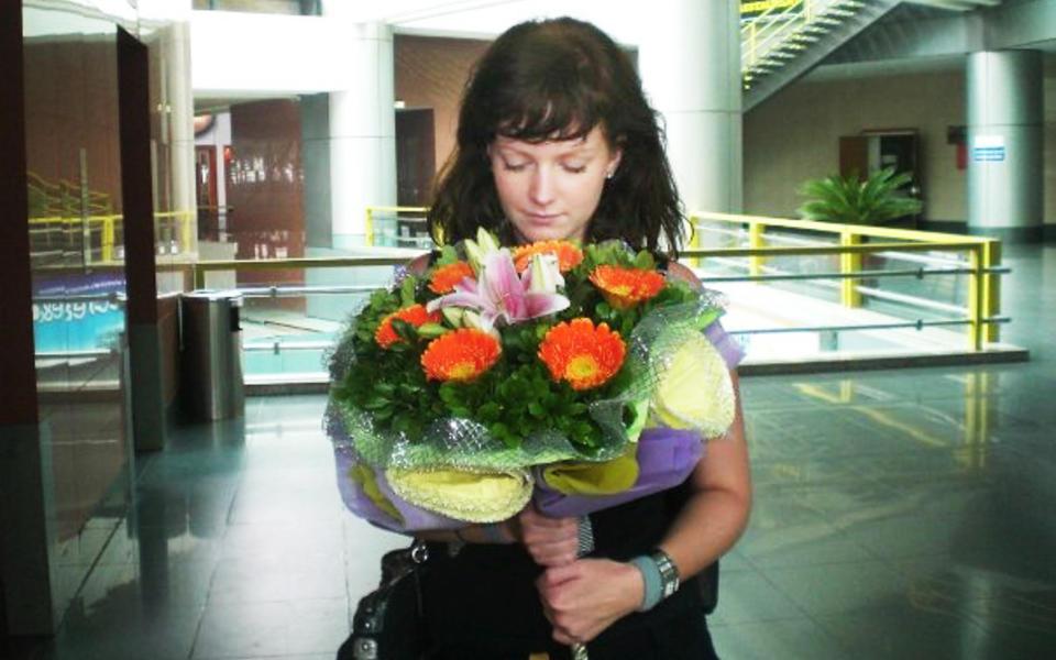 Ønsker familien til Julie Michelle Bergheim alt godt. thumbnail