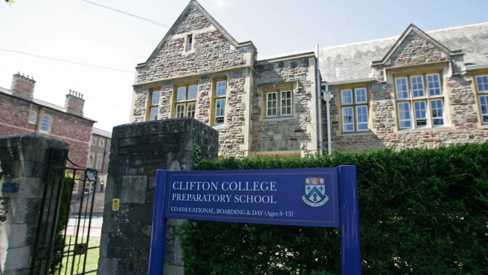 GIKK P� DENNE SKOLEN: Den norsk-britiske 11-�ringen har v�rt elev p� Clifton College Preparatory School i Bristol siden januar i �r. Foto: SCANPIX