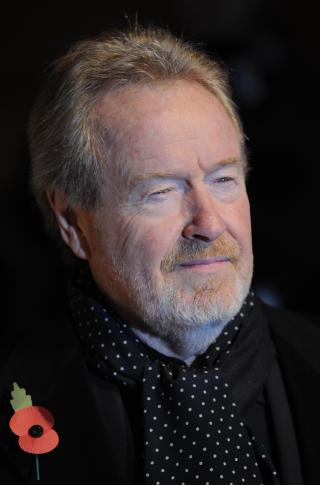 KJENT: Regiss�r Ridley Scott er kjent for filmer som Gladiatoren, Alien, Blade Runner og sist Body of Lies, ogs� med Russell Crowe. Foto: SCANPIX / REUTERS/Toby Melville