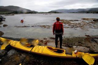 MULIGHETER:En lang kystlinje byr på mange muligheter for padleturer i kystsamfunn.Foto: Kirsten M.Buzzi
