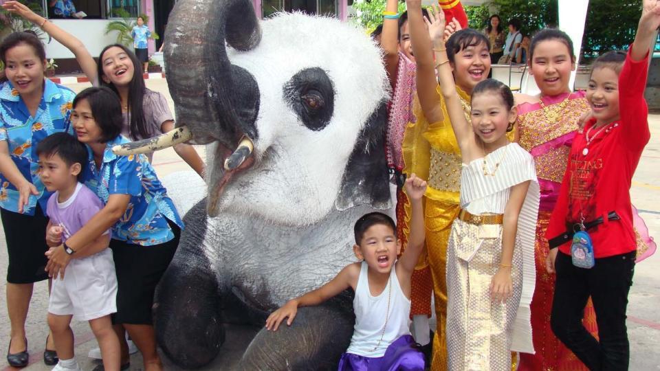 Trenger da ikke male elefanter, spennende nok i seg selv. thumbnail