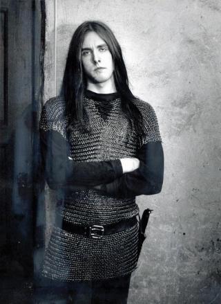 �GREVEN�: Vikernes i 1993, ikke lang tid f�r han ble d�mt for drapet p� Aarseth. Foto: ODDMUND LUNDE/DAGBLADET