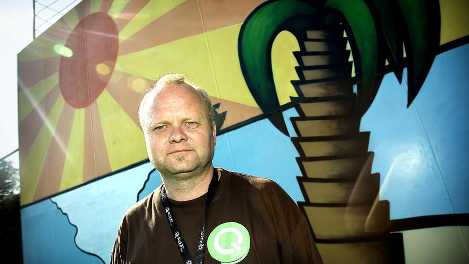 GIR MEDIA SKYLDEN: — Mediene hadde en negativ holdning til festivalen både før og under utviklingen, sier festivalsjef Arild Buli. Foto: Anders Grønneberg