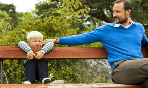 GÅR SIN EGEN VEI: Prins Sverre Magnus gjør som han vil. Foto: SCANPIX