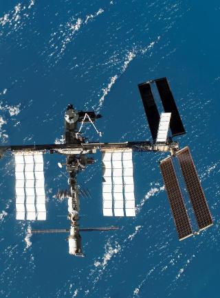 KJEDELIG? Etter Apollo-programmet p� 60- og 70-tallet s� har romferdene g�tt til den lave jordbanen og steder som ISS. Foto: NASA/SCANPIX